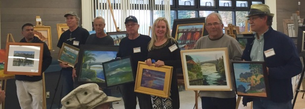 Honorable Mentions. (L to R) Lupe Santos, Bill Kennann, Paul Fortis, Joe Ortiz, Karin Leonard, Mike Bailey, and João de Brito.