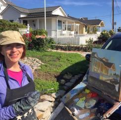 kerrie-brandau-painting-her-honorablemention
